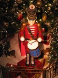 Toy Soldier. Figure on display at a shopping mall stock photography