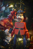 Toy Soldier Christmas Ornament Stock Image