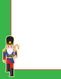 Toy Soldier Corner Royalty Free Stock Photo