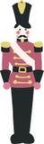 Toy Soldier Design Element illustrato Fotografia Stock Libera da Diritti