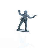 Toy soldier eight Royalty Free Stock Images