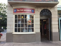 The Toy Soldier, Epcot UK. Souvenir shop in Epcot UK in Orlando, FL Royalty Free Stock Photography