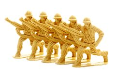 Toy Soldier Figure. Royalty Free Stock Image