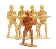 Toy Soldier Figure. Stock Image