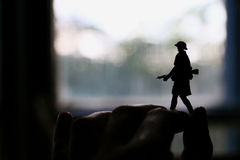 Toy soldier. Royalty Free Stock Photography