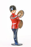 Toy soldier - Marching guard with Cymbal Royalty Free Stock Images
