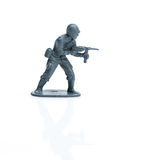 Toy soldier seven royalty free stock image