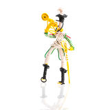 Toy soldier trumpet player Stock Photography
