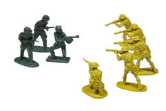 Toy soldiers Stock Photo
