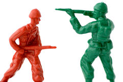 Toy soldiers 2 Stock Photo