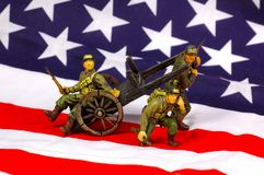 Toy Soldiers 3 royalty free stock photo