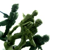 Toy soldiers 5 Royalty Free Stock Photos
