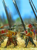 Toy Soldiers. Closeup of toy soldiers Stock Photos