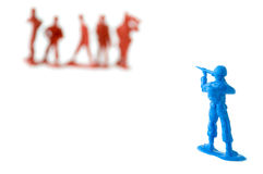 Toy soldiers Royalty Free Stock Images