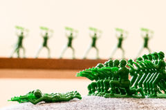 Toy Soldiers Arkivbild