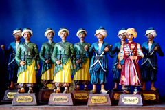 Toy soldiers. Toys of Ottoman army by hierarchy Stock Photo