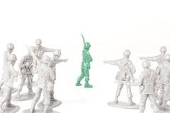 Toy Soldiers de intimidation image libre de droits