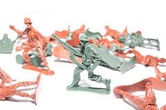 Toy Soldiers diminuto fotografia de stock