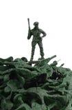 Toy Soldiers diminuto fotos de stock