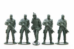 Toy soldiers Stock Photography