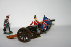 Toy soldiers Royalty Free Stock Image