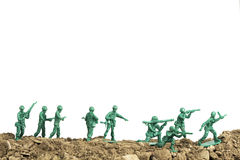 Toy Soldiers War stock foto
