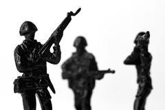 Toy Soldiers War Image stock