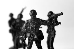 Toy Soldiers War Photos libres de droits