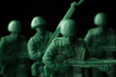 Toy Soldiers War stock foto's