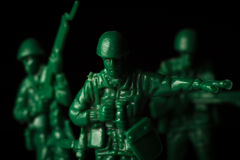 Toy Soldiers War royalty-vrije stock foto