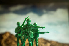 Toy Soldiers War Images libres de droits