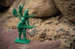 Toy Soldiers War royalty-vrije stock fotografie