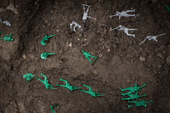 Toy Soldiers War Stock Photos
