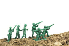 Toy Soldiers War Royalty Free Stock Photos