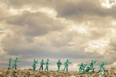 Toy Soldiers War Stock Photography