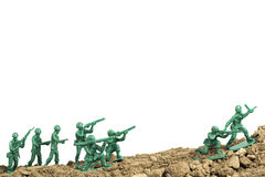 Toy Soldiers War Royalty Free Stock Photography