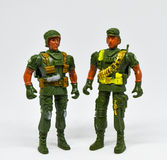 Toy soldiers. royalty free stock image
