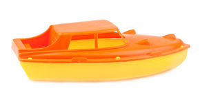 Toy speedboat Stock Photography