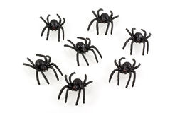 Toy Spiders. Stock Photography