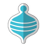 Toy spinning top icon Royalty Free Stock Image