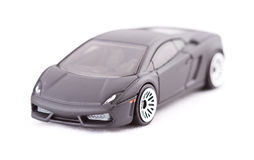 Toy sport car. On a white background Stock Images