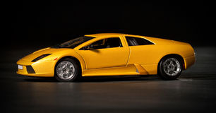 Toy sport car royalty free stock photos