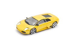 Toy sport car Stock Image
