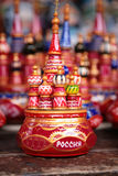 Toy st. basil cathedral Royalty Free Stock Photo