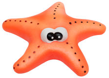 Toy starfish isolated Stock Image