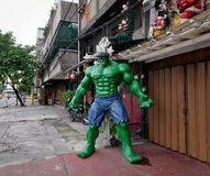 A toy statue on street in Manila, Philippines Stock Photos