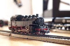 Toy steam locomotive Royalty Free Stock Photo