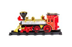 Toy Steam Train Royalty Free Stock Photos