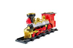 Toy Steam Train Royalty Free Stock Photo