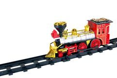 Toy Steam Train Stock Photography